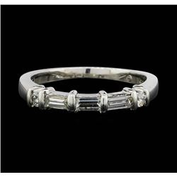 Jeff Cooper Platinum 0.46 ctw Diamond Designer Ring
