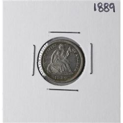 1889 Liberty Seated Dime Coin