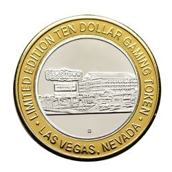 .999 Silver Sam Boyd's Sam's Town $10 Casino Gaming Token Limited Edition