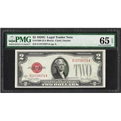 1928G $2 Legal Tender Note Fr.1508 PMG Gem Uncirculated 65EPQ