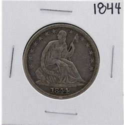 1844 Liberty Seated Half Dollar Coin