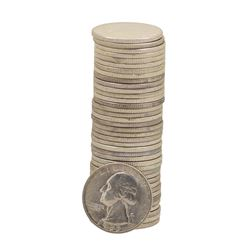 Roll of (40) 1955-D Brilliant Uncirculated Washington Quarters