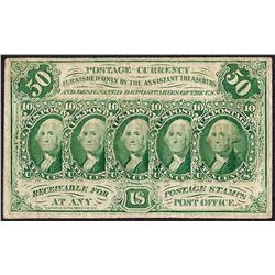 July 17, 1862 Fifty Cents First Issue Fractional Currency Note