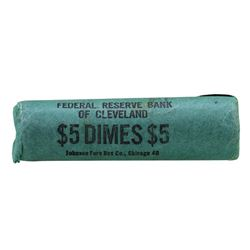 Roll of (50) 1959-D Brilliant Uncirculated Roosevelt Dimes