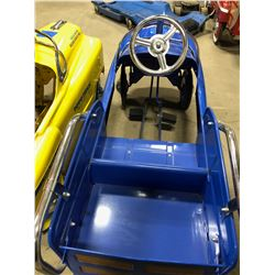 Kids Toyo Tires Pedal Car blue in colour