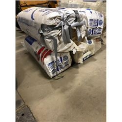 4 bags of Insulation R-20. Formaldehyde Free