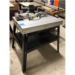 Router Table. Model B2059. Ser No 808003 Date 1998-8