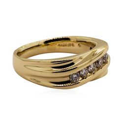 0.60 ctw Diamond Ring - 14KT Yellow Gold