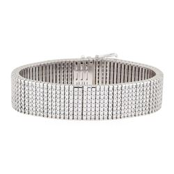 15.40 ctw Diamond Bracelet - 14KT White Gold