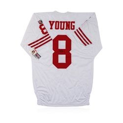 San Francisco 49ers Steve Young Autographed Jersey