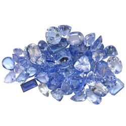 11.04 ctw Fancy Mixed Tanzanite Parcel