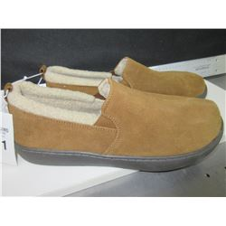 New Mossimo Genuine Suede Mens Slippers size 11 non marking sole