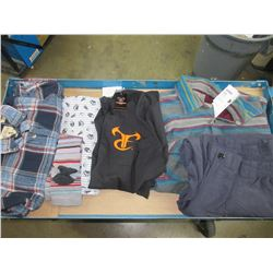 Bundle of Assorted Clothing / shirts-pants and more  / small to large