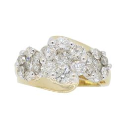 14KT Yellow Gold 2.00ctw Diamond Ring