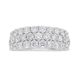 18KT White Gold 2.00ctw Diamond Ring