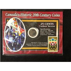 CANADA'S HISTORIC 20th CENTURY COINS AND STAMP SETS