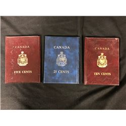 CANADIAN COIN HOLDERS ALBUM LOT