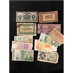 WORLD BANKNOTES LOT