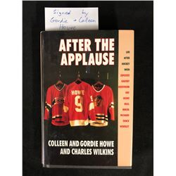 "GORDIE & COLLEEN HOWE SIGNED ""AFTER THE APPLAUSE"" BOOK"
