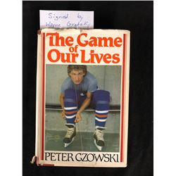 "WAYNE GRETZKY SIGNED ""THE GAME OF OUR LIVES"" HOCKEY BOOK"