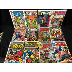 COMIC BOOK LOT (THE THING/ HULK/ CAPTAIN AMERICA...)