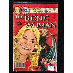1977 THE BIONIC WOMAN #1 (CHARLTON COMICS)