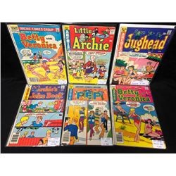 ARCHIE SERIES COMIC BOOK LOT (1970'S)