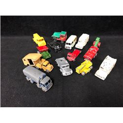 VINTAGE TOY CAR LOT (DIE-CAST...)