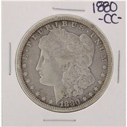 1880-CC $1 Morgan Silver Dollar Coin