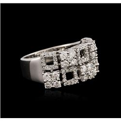 18KT White Gold 1.70 ctw Diamond Ring