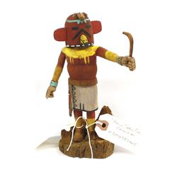 Hopi Palakwayo Red Tailed Hawk Kachina
