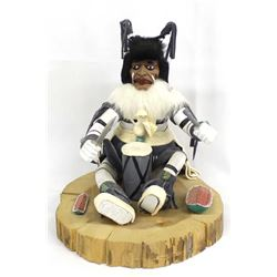 Native American Navajo Clown Kachina