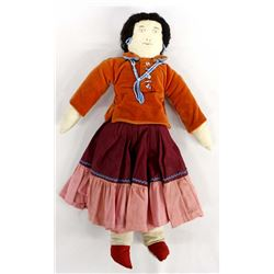 Vintage Native American Navajo Cloth Doll