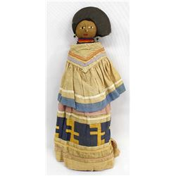 Vintage Native American Seminole Doll,Panther Clan
