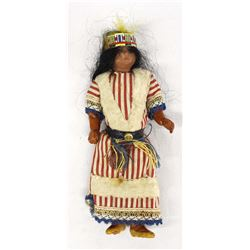 Antique German Made Native American Doll