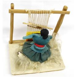 Navajo Weaver Doll with Papoose