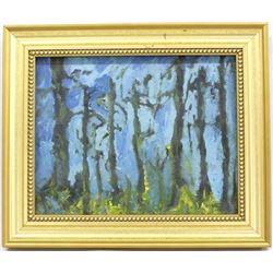 2003 Original Oil Painting Mount Lemmon by Mary Ng