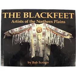 Hardback book the Black Feet by Scriver