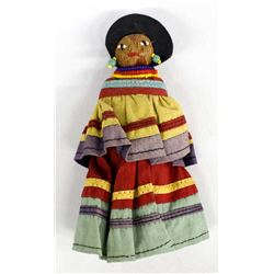Vintage Native American Seminole Doll