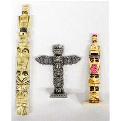 Northwest Coast Trading Post Totem Pole Souvenirs