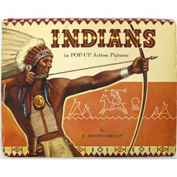 Indians in Pop-Up Action Pictures by E.J. Dreany