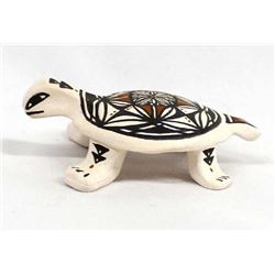Native American Pottery Turtle by E. Juanica