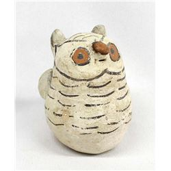 Vintage Native American Cochiti Pottery Owl