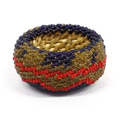 Small Native American Paiute Beaded Basket