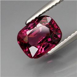 Natural Cushion Purple Pink Spinel 2.29 Ct - Untreated
