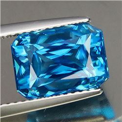 Natural Untreated Blue Zircon 9.45 Cts - VVS
