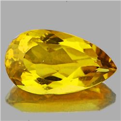 Natural Whisky Golden Yellow Citrine {Flawless-VVS1}
