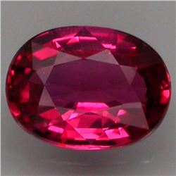 Natural Red Ruby VVS 0.78 Ct - Untreated