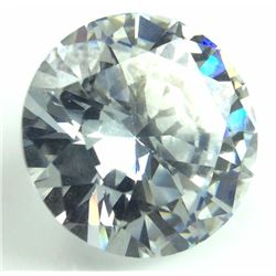 7 Ct. Round Faceted Lab Created Diamond