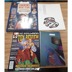 MISC MAGAZINES AND COUNTRY MUSIC STARS BOOK